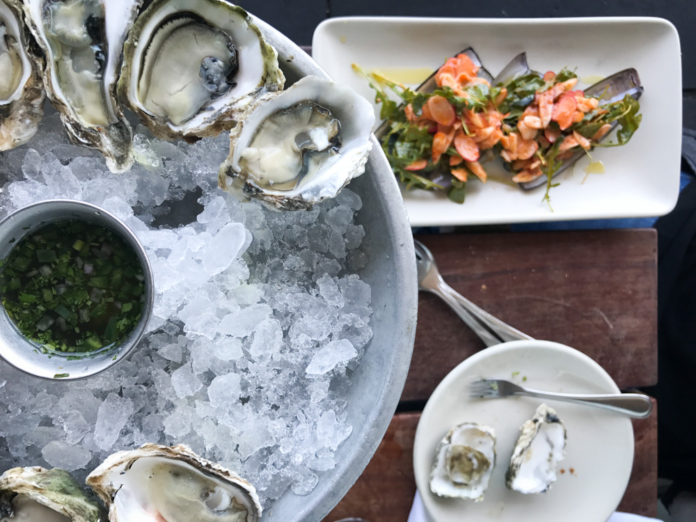 Kumamoto Oysters at Hog Island Oyster Co.