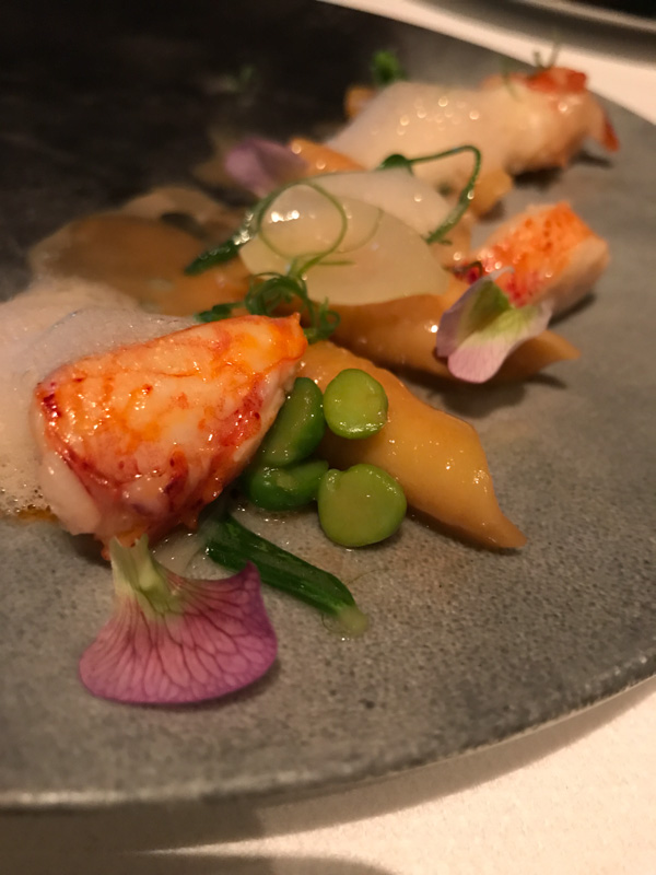 Garganelli with Maine Lobster, English Peas, and Scallion at Quince