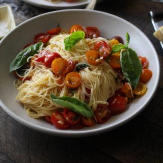 Angel Hair Pasta with Summer Tomatoes (Pasta al Pomodoro Crudo)