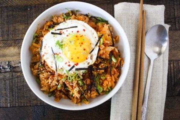 Easy Kimchi Fried Rice